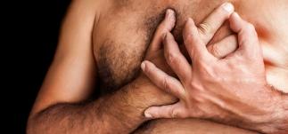 Vejrtrækning - trykken for brystet - hjertet - Mybodyandmind x151