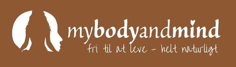Mybodyandmind logo test - fri til at leve helt naturligt
