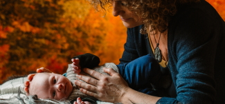 Baby behandling Kranio-Sakral Terapi nyfødt - Mybodyandmind x151