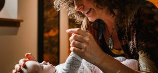 Baby behandling Kranio-Sakral Terapi pige - Mybodyandmind x151