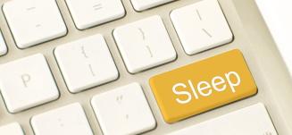 søvnproblemer - søvn knap tastatur - Mybodyandmind x151